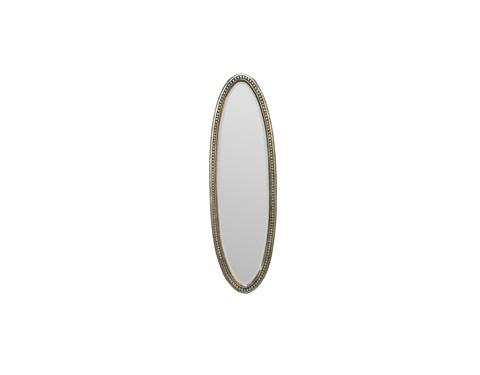 Alden Parkes - Beaded Oval Mirror - ACMR-BDOVS