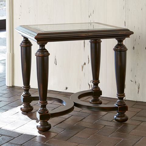 Ambella Home Collection - Scrolling Gate End Table - 02197-900-001