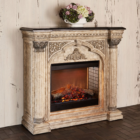 Ambella Home Collection - Arch Electric Fireplace - 01168-400-057