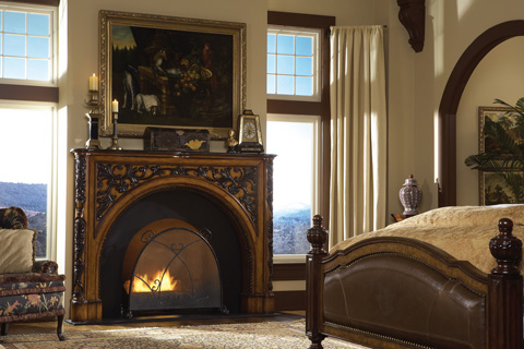 Ambella Home Collection - Fredericksburg Fireplace Surround Décor - 06554-420-279