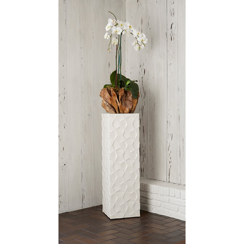 Ambella Home Collection - Limestone Bow Tie Pedestal - 09404-870-040
