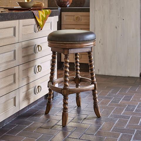 Ambella Home Collection - Dawson Swivel Counter Stool - 20017-528-001
