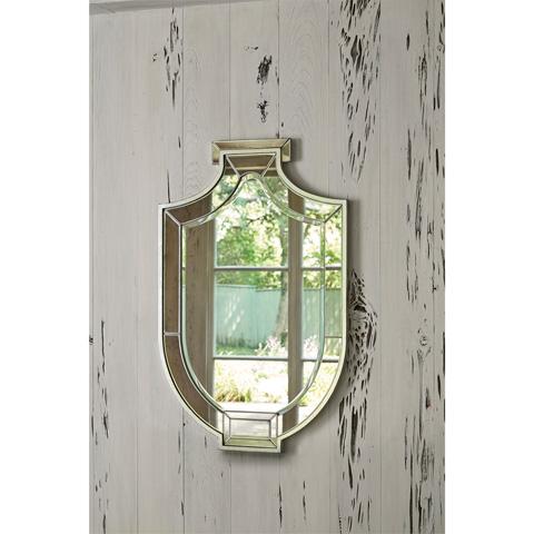 Ambella Home Collection - Shield Mirror - 27053-980-040
