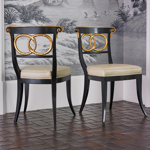 Ambella Home Collection - Dolphin Side Chair - 58012-700-001