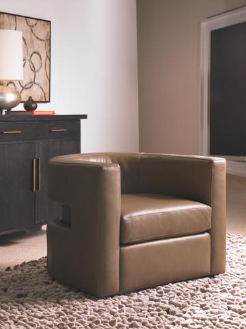 American Leather - Frankie Swivel Chair - FRN-CHS-ST