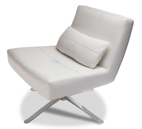 American Leather - Hugo Swivel Chair - HUG-CHR-ST