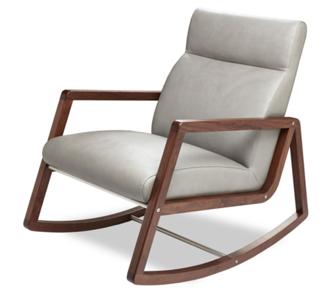 American Leather - Nolan Rocking Chair - NLN-CHR-ST