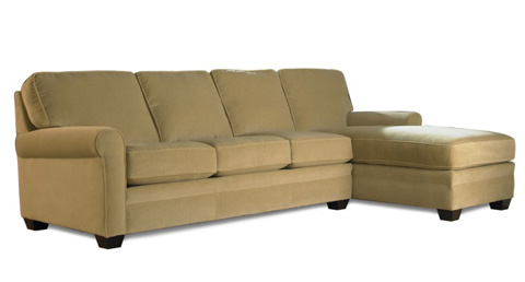 American Leather - Braxton Sectional - BRX-SO3-RA/BRX-SCH-LA