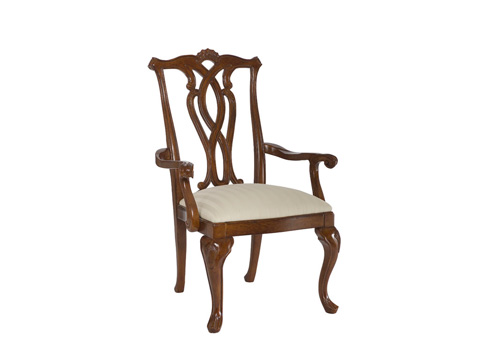 American Drew - Cherry Grove Pierced Back Arm Chair - 792-655