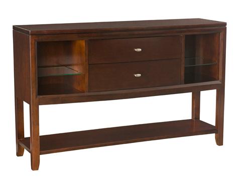 American Drew - Tribecca Sideboard with Display Shelf - 912-850