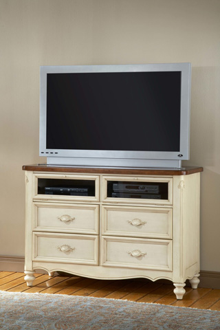 American Woodcrafters - Chateau Media Cabinet - 3501-232