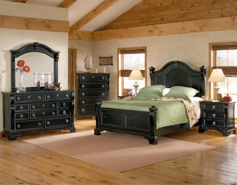 American Woodcrafters - Heirloom Poster Bedroom Set - 2900 SET