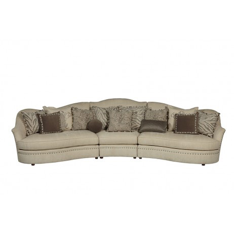 A.R.T. Furniture - Amanda Ivory Sectional - 204SECTIONAL