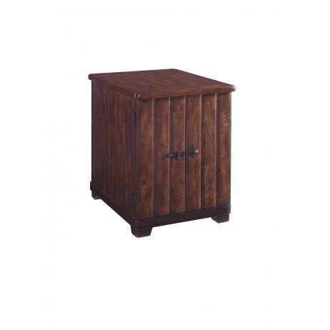 A.R.T. Furniture - Whiskey Oak Chairside Table - 205310-2304