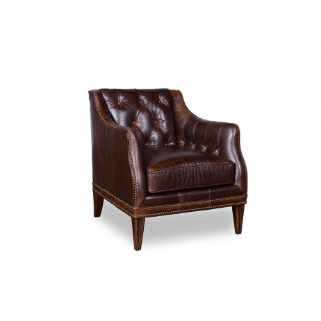 A.R.T. Furniture - Kennedy Walnut Leather Chair - 505523-5004AA