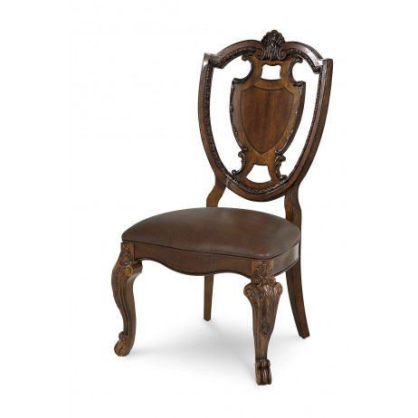 A.R.T. Furniture - Shield Back Side Chair with Leather Seat - 143204-2606