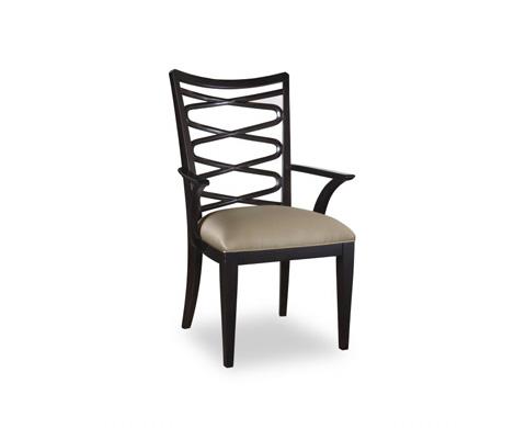 A.R.T. Furniture - Ribbon Back Arm Chair in Ebony - 208211-1815