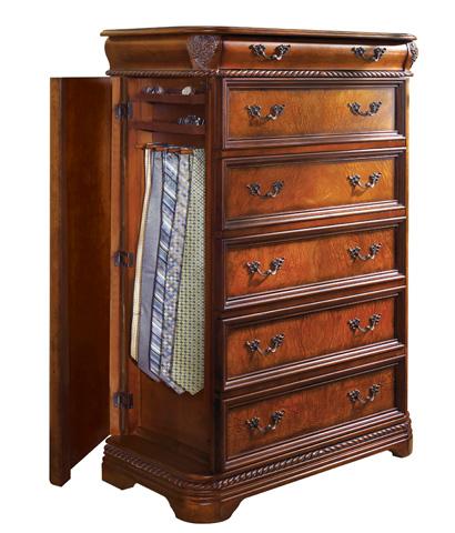 Aspenhome - Gentleman's Chest with Hidden Tie Storage - I74-456