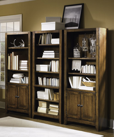 Aspenhome - Cross Country Bookcase Wall Unit - IMR-333/332/333-SET