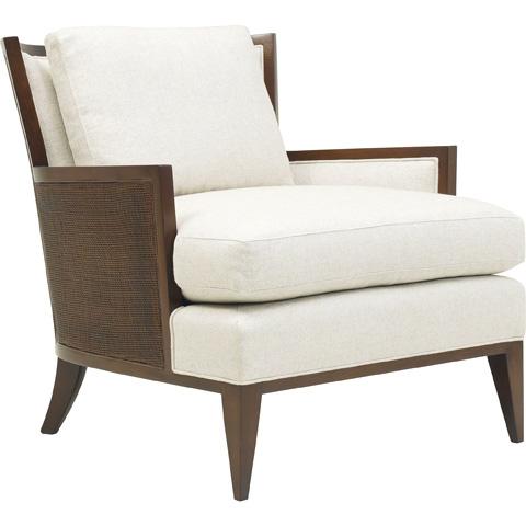 Baker Furniture - California Cane Lounge Chair - 6714C