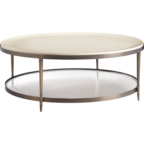 Baker Furniture - Oberon Round Cocktail Table - 3651
