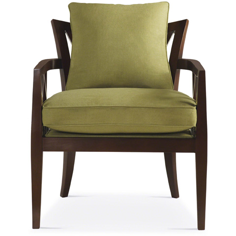 Baker Furniture - Double X-Back Chair - 479