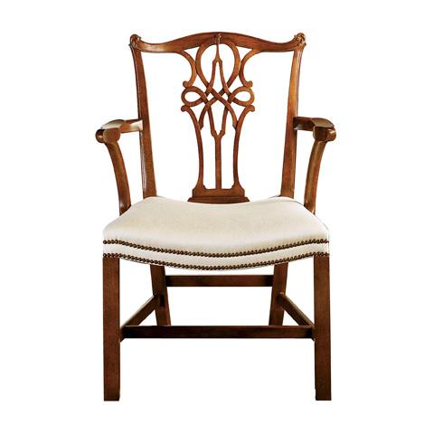 Baker Furniture - George III Mahogany Arm Chair - 5245
