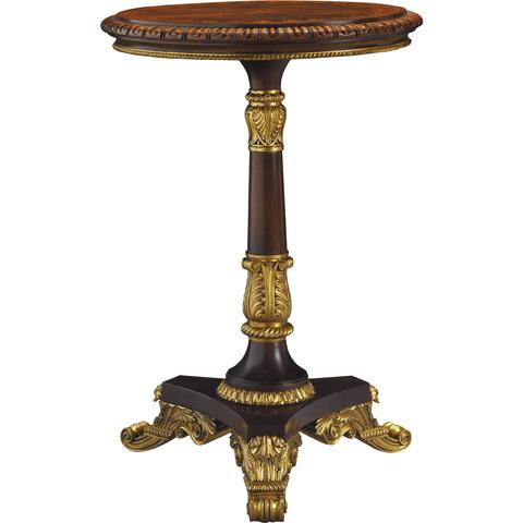 Baker Furniture - Regency Pedestal Accent Table - 5363