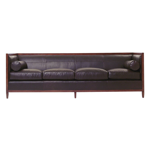 Baker Furniture - Archetype Wood Banded Sofa - 6370-98