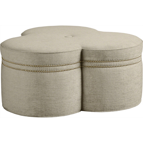 Baker Furniture - Triplette Ottoman - 6499O