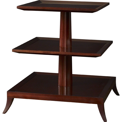 Baker Furniture - Tower Three Tier Table - 8658