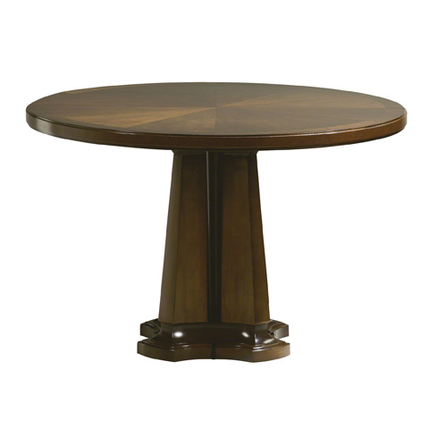 Baker Furniture - Noir Round Dining Table - 9137