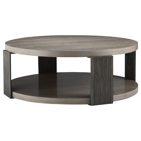 Baker Furniture - Angulo Round Cocktail Table - 9161