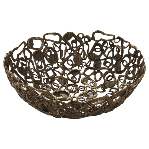 Baker Furniture - Ostra Bowl - LK500