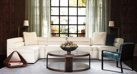 Baker Furniture - Helena Three Piece Sectional - 6150SECT