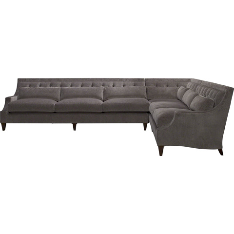 Baker Furniture - Max Sectional - 6130CC/LO/SC