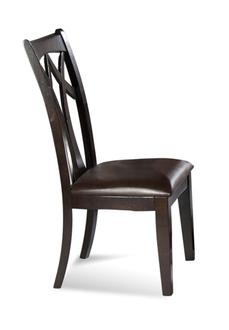 Bassett Mirror Company - Elation Wood Back Side Chair - D1078-S800