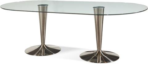 Bassett Mirror Company - Concorde Dining Table - D2074-702