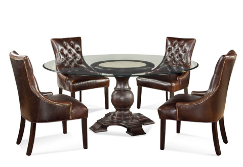 Bassett Mirror Company - Hampton Round Dining Table - D2619-700