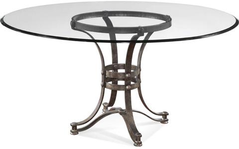 Bassett Mirror Company - Tempe Round Dining Table - D2660-700