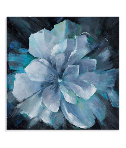 Bassett Mirror Company - Beauty in Blue Art - 7300-141
