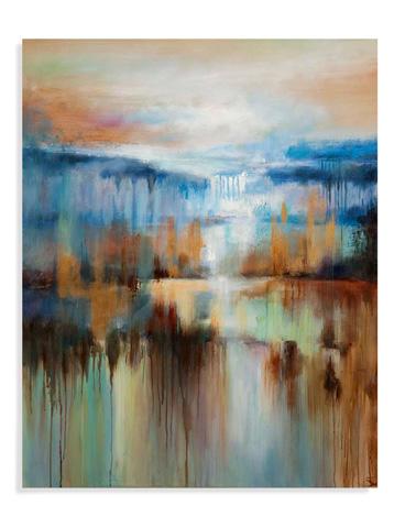 Bassett Mirror Company - Afternoon at the Lake Art - 7300-181