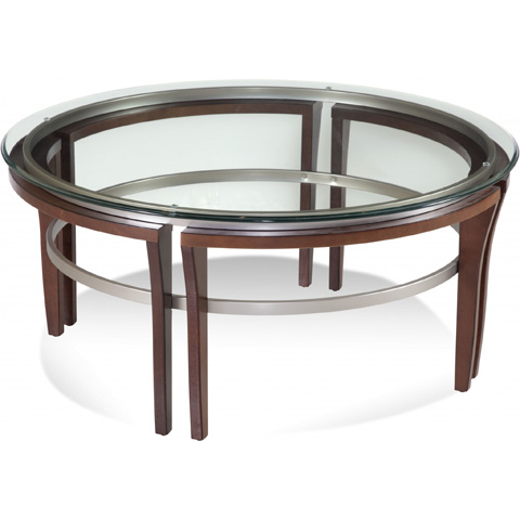 Bassett Mirror Company - Fusion Round Cocktail Table - 8116-120-911