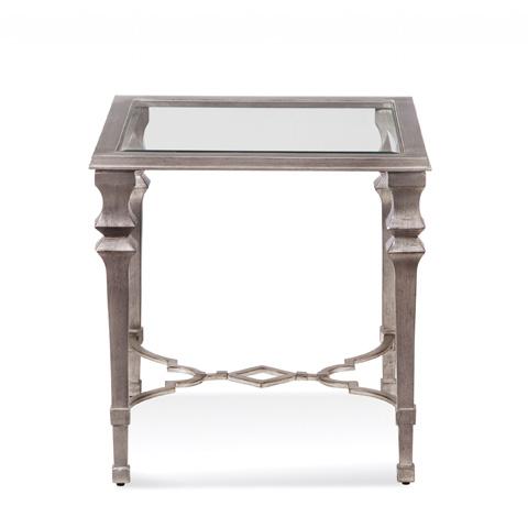 Bassett Mirror Company - Sylvia Square End Table - 1212-250