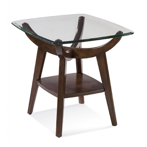 Bassett Mirror Company - Gillian End Table - 3015-200B-T