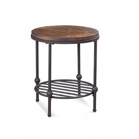 Bassett Mirror Company - Emery Round End Table - 3194-220