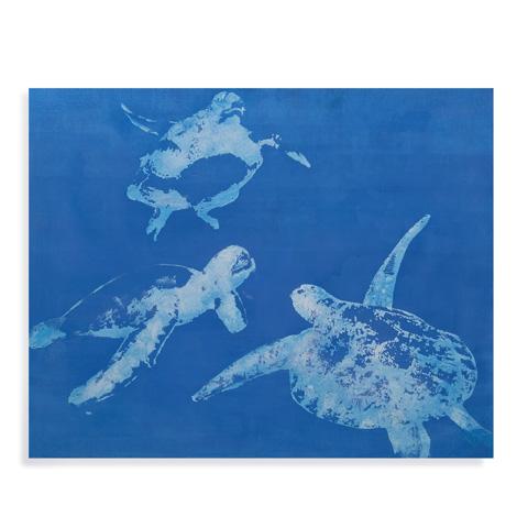 Bassett Mirror Company - Sea Turtles - 7300-214