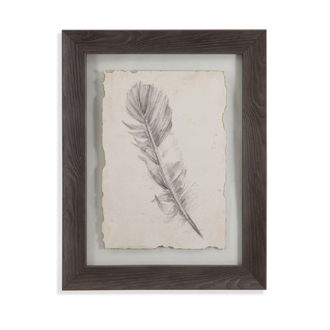 Bassett Mirror Company - Feather Sketch I - 9900-599A