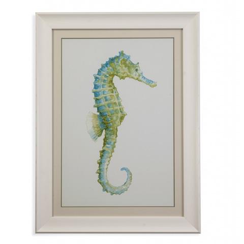 Bassett Mirror Company - Watercolor Seahorse I - 9900-682A