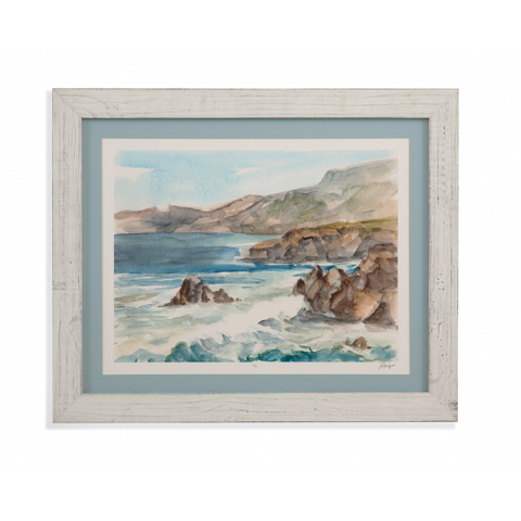 Bassett Mirror Company - Coastal Watercolor II - 9900-815B